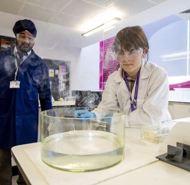 Chemistry A-Levels Courses Student Doing Experiment
