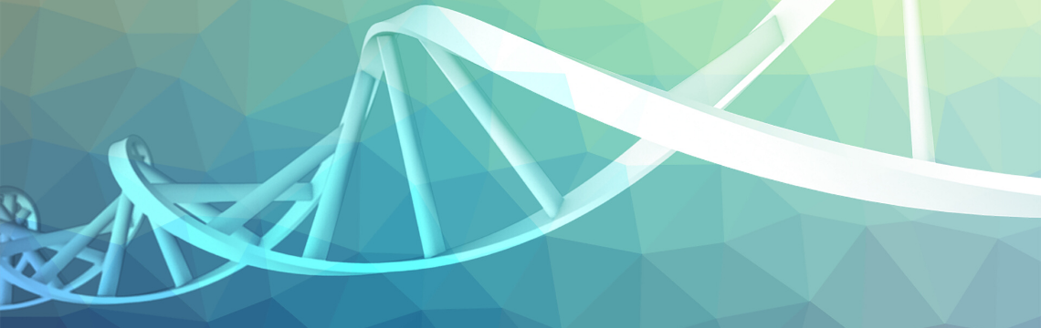 Computer generated image of DNA