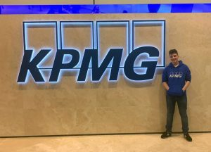 Former Central Saint Michaels Sixth Form student Kaven Judge at KPMG