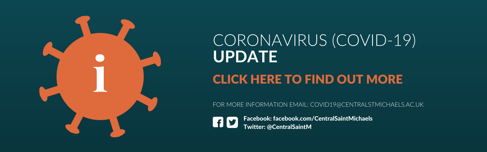 Click here to find out more about our latest Coronavirus (COVID-19) update