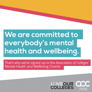 Association of College's Mental Health and Wellbeing Charter image