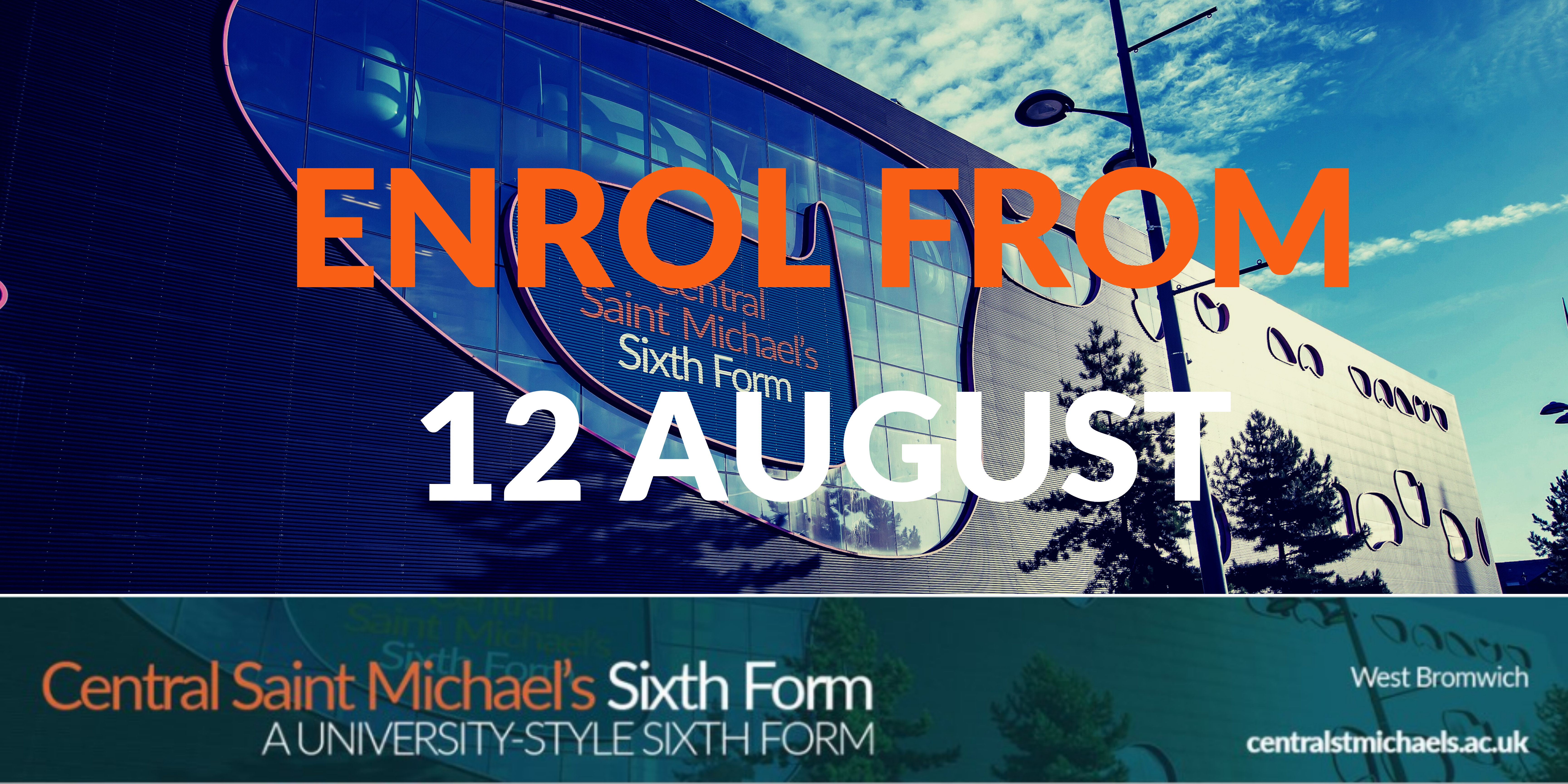 Enrol from 12 August