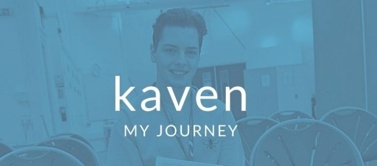Kaven My Journey Blog Graphic